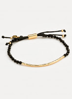 Gorgana Power Gemstone Black Onyx Bracelet for Protection