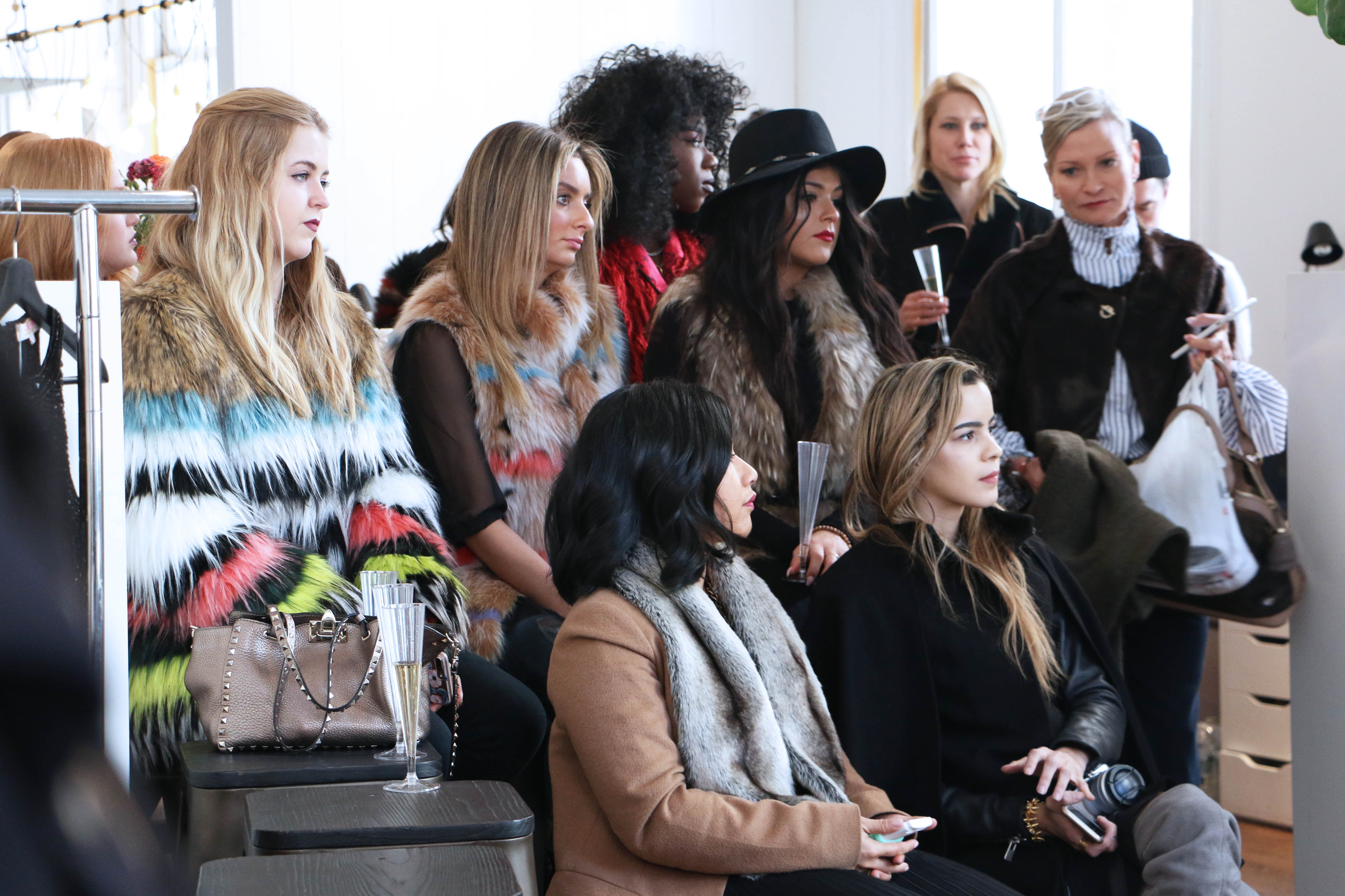 Bloggers at Stylinity NYFW Style Soiree